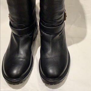 Brand New Black Fendi Boots size 361/2